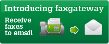 Introducing faxgateway, receive faxes to email